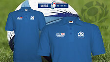 Six Nations Rugby 2016 Scotland v England polo shirt win Murrayfield Feb 2016