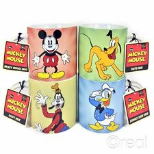 New Disney Mickey Mouse Goofy Donald Duck Or Pluto Mug Coffee Retro Tea Official
