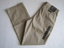 BANANA REPULIC Men's Dark Khaki Dawson Relaxed Fit Chino Pants Size 29,30,32 NWT