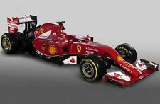 Ferrari Formula 1 Racing Car - Printed Canvas Picture - 4 Sizes Available!