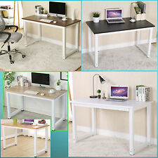 Computer Desk PC Table For Home Office Furniture  in Beech,Black,White & Walnut