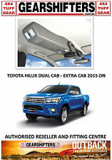 OUTBACK ACCESSORIES ROOF CONSOLES 4X4 TOYOTA HILUX DUAL AND EXTRA CAB 2015 ON