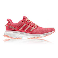 adidas Energy Boost 3 Womens Pink Cushioned Running Sports Shoes Trainers