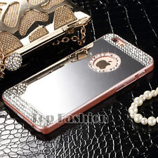 Bling Mirror Crystal Diamond Ultra-thin Hard Back Case Cover For Apple iPhone