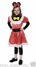 Childrens Book Week Child Mouse Girl Animal Minnie Mouse Fancy Dress Outfit