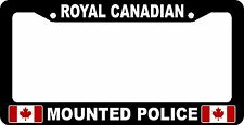 Royal Canadian Mounted Police RCMP Car Auto License Plate Frame