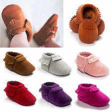 Cute Baby Girls Boys Casual Shoes Toddler Infant Shoes Tassel Moccasins Shoes