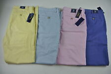 Men's Polo Ralph Lauren BEDFORD CHINO STRAIGHT FIT PANT Ctn. Twill All Sizes $98