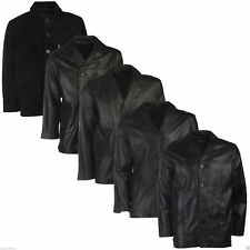 Mens Leather Jacket Brown Black Real 100% Genuine Everyday Style Fashion