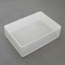 A6 CLEAR PLASTIC STORAGE CRAFT HOME OFFICE PAPER CARD BOX HOLD ARTS BOXES NEW