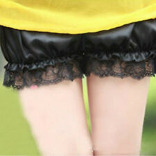 Women Lolita Lace Shorts Bloomers Pantaloons Underwear Knickers Safety Hot Pants