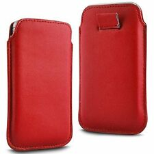 Soft PU Leather Pull Tab Flip Case Cover For Vodafone Smart First 6