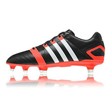 Adidas FF80 XTRX SG 2 Mens Red Black Synthetic Sports Rugby Boots Shoes