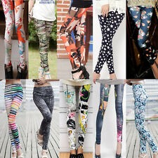 Hot Fashion Womens lady Punk Funky jean Stretchy  Pencil Skinny Sexy Pants
