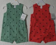NEW CARTERS BOYS ROMPER SUNSUIT ONE PIECE VARIOUS STYLES AND SIZES
