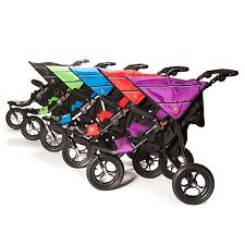 Out n About Single Nipper V4 NEW with Raincover + Under Stroller Basket