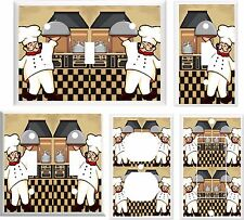 Light Switch Cover Plate ~ Fat Chef Cooking Fun Kitchen design