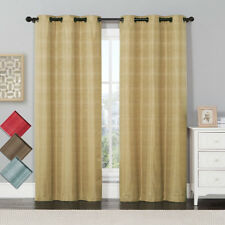 Murry Jacquard Thermal-Insulated Blackout Curtain (Pair)