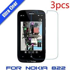 3x CLEAR LCD Screen Protector Guard Cover Film For Nokia Lumia 822