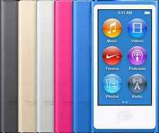 Apple iPod Nano 8th Generation 16GB MP3 Player Blue Silver Gray Pink New Other