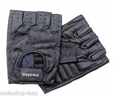 Modeka 070310 Chopper Gloves Touring Motorcycle Biker fingerless black