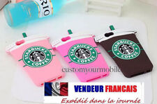 Starbucks 3D Silicone Coffee Cup Phone Case Cover S3 iPhone 4 4S 5S 5C 6 Plus +