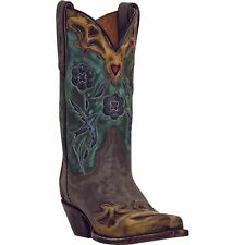 NEW DAN POST BLUEBIRD COWGIRL BOOTS! STYLE DP3544! NEW IN BOX!! VINTAGE LEATHER