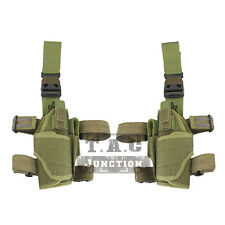 Emerson Tactical Adjustable Universal Drop Leg Pistol Holster w/Magazine Pouch