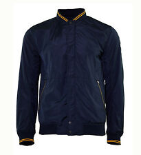Duck And Cover Men's Oakenfold Navy Bomber Style Jacket