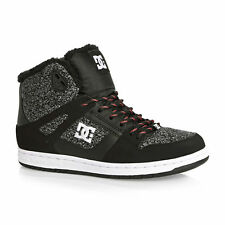 DC Trainers - DC Rebound High Wn Trainers - Grey Ash