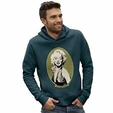 Twisted Envy Men's Marilyn Monroe Money Portrait Hoodie