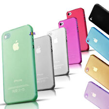 I phone Soft Transparent Back Case Cover Protector for Apple iPhone 5 5s 4 4s 5c