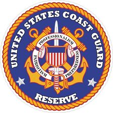 United States Coast Guard Reserve Decal / Sticker
