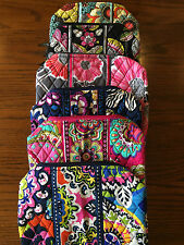 Vera Bradley Large Cosmetic Bag Travel School CHOICE of Pattern NWT