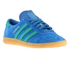 NEW adidas Originals Hamburg Shoes Men's Sneakers Sneakers Blue S74839 SALE