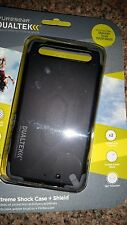 PUREGEAR DUALTEK EXTREME SHOCK CASE + SHIELD MOTOROLA DROID RAZR MAXX BLACK NEW