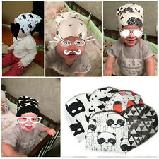 Toddler Kids Girl Boy Baby Infant Soft Knit Winter Cotton Hat Beanie Cap 2016New