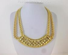 Celebrity Inspired RICH BITCH Double Chain Necklace - Gold or Silver
