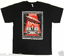 LED ZEPPELIN MOTHERSHIP T-shirt Distressed Retro Rock Tee Adult S-2XL Black New