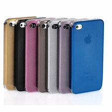 Ultra thin Metal Aluminium Frame Hard Cover Case For Apple iPhone SE 5 5s 4 4s
