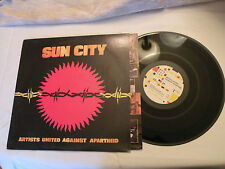 LP, SUN CITY Artists United Against Apartheid, Manhattan ST-53019, Insert, VG++