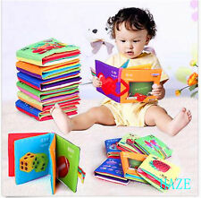 Intelligence development Cloth Bed Cognize Book Educational Toy for Baby New