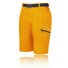 Montane Dyno Stretch Mens Orange Outdoors Hiking Pocket Shorts Pants Bottoms