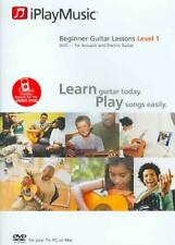 Beginner Guitar Lessons - Level 1 New DVD