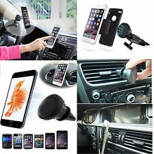 Car Air Vent + CD Slot Magnet Mount Phone Holder for Apple iPhone Samsung LG HTC