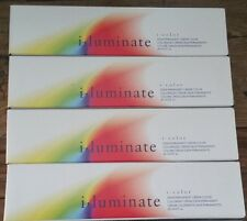 I Luminate i Color DEMI Permanent Creme Color 2 oz (4)x CLEAR - Brand New