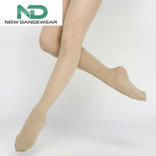 Footed Tan Dance Tights for Ballet and Shows