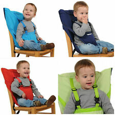 Baby Portable Seat Kids High Chair Harness Infant Booster Seat Safety Belts Feed