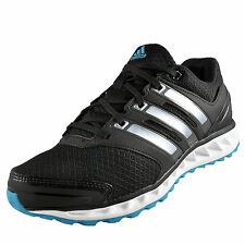 Adidas Womens Girls Falcon Elite 3 Running Shoes Trainers Black * AUTHENTIC *