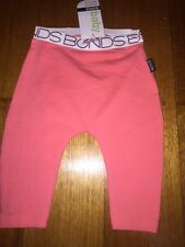 Baby Bonds stretchies pink leggings size 000 BNWT RRP $16.95.